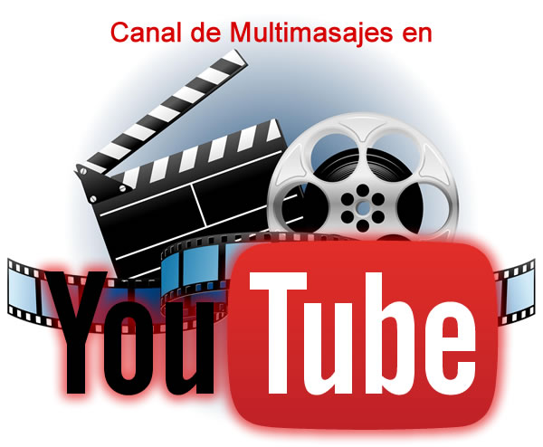 canal de Youtube de Multimasajes
